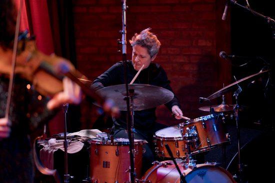 Allison Miller at the 2019 Winter Jazzfest in New York