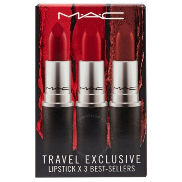 M.A.C Powder Kiss Lipstick Travel Set Trio Kit - 546x546