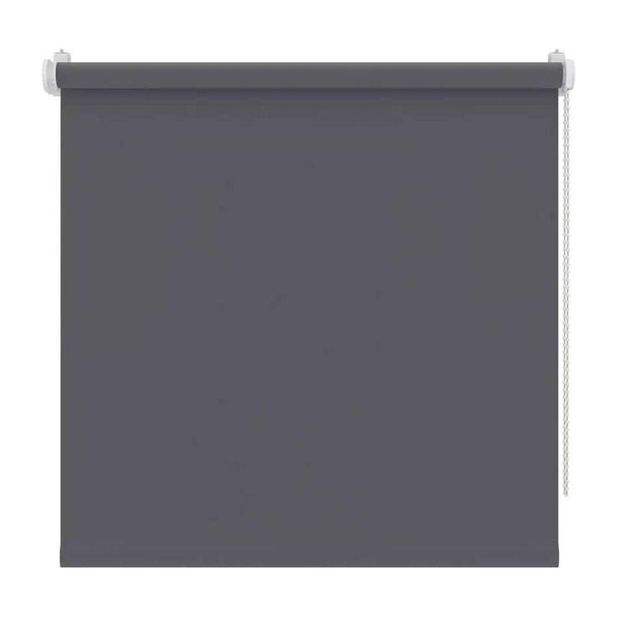 store enrouleur occultant gris anthracite dalvik