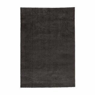 tapis doux gris anthracite atlas 120x170 cm