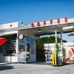 An Old Texaco In Koreatown Is Now A Drive Through Coffee Shop