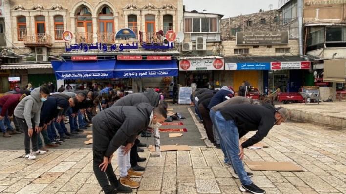 للجمعة السادسة- المسجد الأقصى خالٍ من المصلين