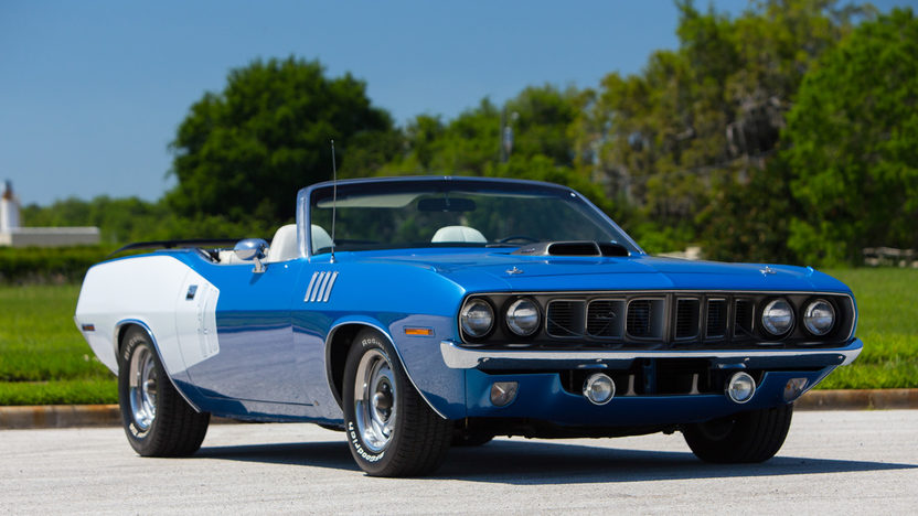 1971 Plymouth Barracuda Convertible S223 Indy 2016