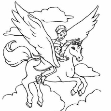 barbie coloring pages # 48