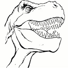 free printable dinosaur coloring pages # 4