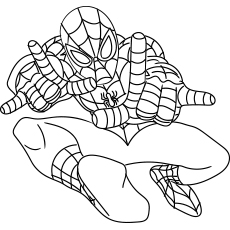 50 Wonderful Spiderman Coloring Pages Your Toddler Will Love