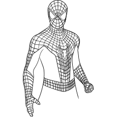 coloring pages of spiderman # 11