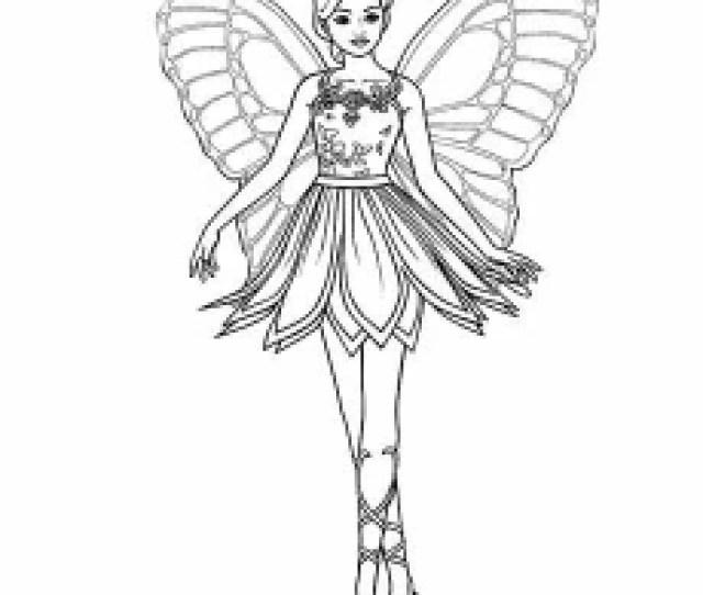 Top  Free Printable Barbie Coloring Pages Online