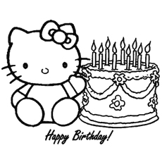 free printable hello kitty coloring pages # 35