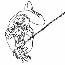 top 33 free printable spiderman coloring pages online