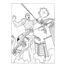 Spiderman 3 Coloring Pages For Kids