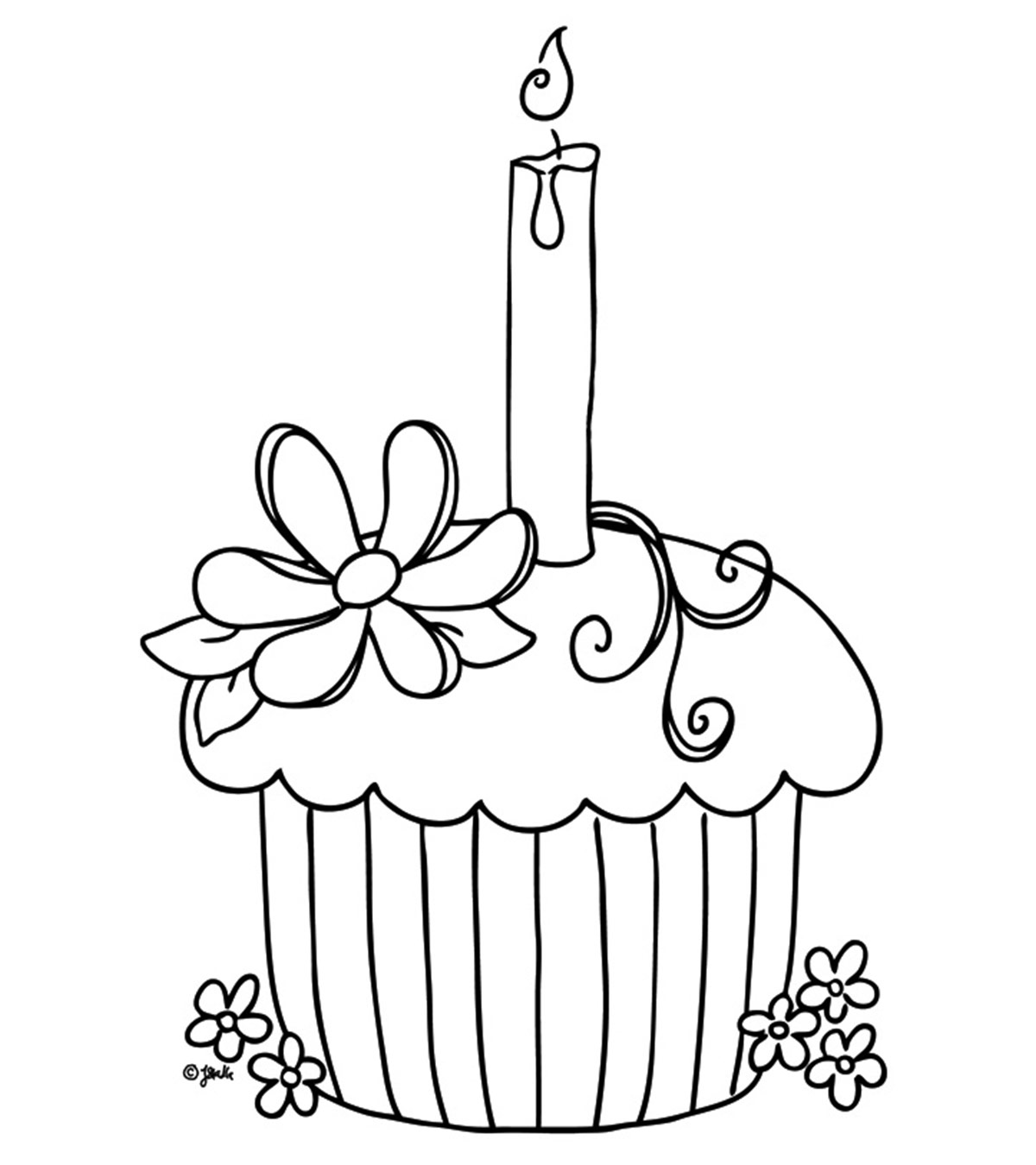 Snacks Coloring Pages