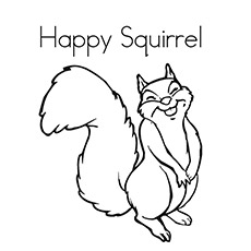 top 35 free printable squirrel coloring pages online