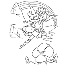 fairy princess coloring pages # 10
