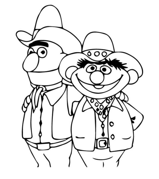 Top 26 Free Printable Sesame Street Coloring Pages Online