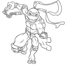 Ninja Turtles Coloring Pages Inspirational Coloring Free Printable ... | 230x230