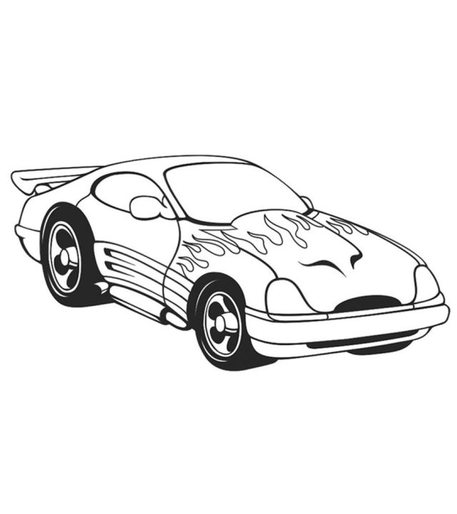 Top 22 Free Printable Sports Car Coloring Pages Online