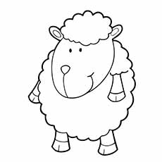 top 25 free printable sheep coloring pages online