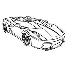 top 20 free printable sports car coloring pages online