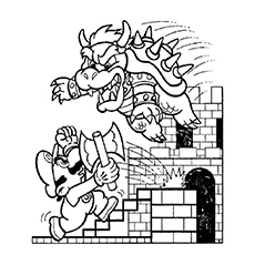 Mario Coloring Pages Coloring Pages Free Online Super Mario Bros ... | 230x230