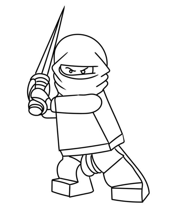 Top 21 Free Printable Ninja Coloring Pages Online