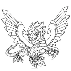 coloring pages dragon # 44