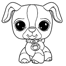 little pet shop coloring pages # 1