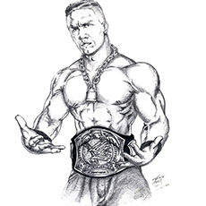 top 15 free printable john cena coloring pages online