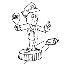 10 best police amp police car coloring pages your toddler will love