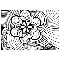abstract coloring page # 37