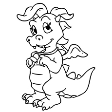 dragon tales coloring pages coloring page for kids