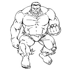25 popular hulk coloring pages for toddler