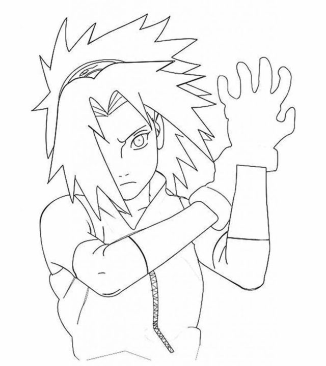 Top 28 Free Printable Naruto Coloring Pages Online