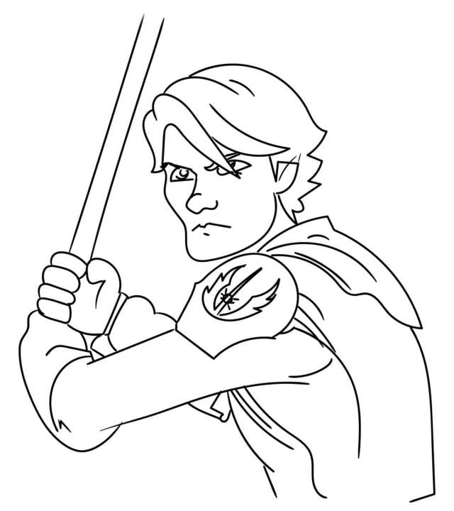 Top 27 Free Printable Star Wars Coloring Pages Online
