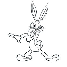 top 25 free printable bugs bunny coloring pages online