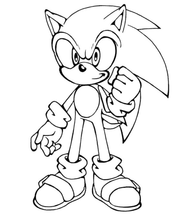 26 Sonic The Hedgehog Coloring Pages - Free Printable