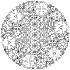 free printable abstract coloring pages # 0