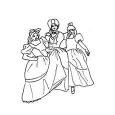 top 25 free printable cinderella coloring pages online