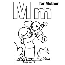 Letter M coloring pages | Free Coloring Pages | 230x230