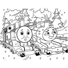 train coloring pages # 63