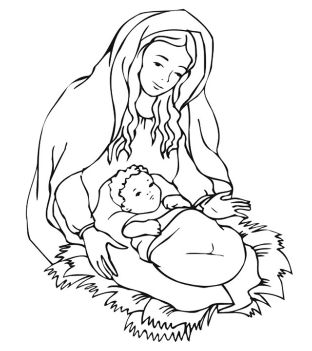 Top 30 Free Printable Christmas Coloring Pages Online