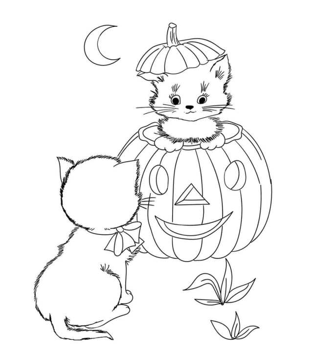 17 Amazing Disney Halloween Coloring Pages For Your Little Ones