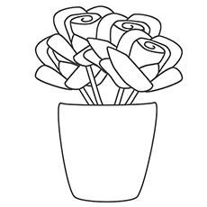 top 25 free printable beautiful rose coloring pages for kids