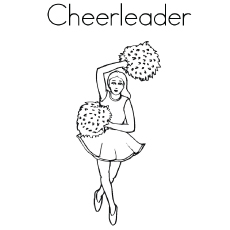 cheer coloring pages # 10