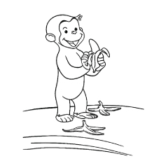 coloring pages of monkeys # 9