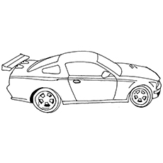 printable car coloring pages # 67