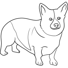 dog coloring pages printable # 2