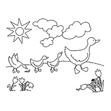 top 25 free printable spring coloring pages online
