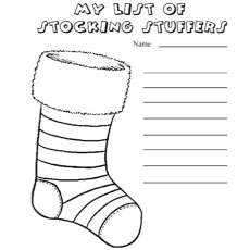 top 25 free printable christmas stocking coloring pages online