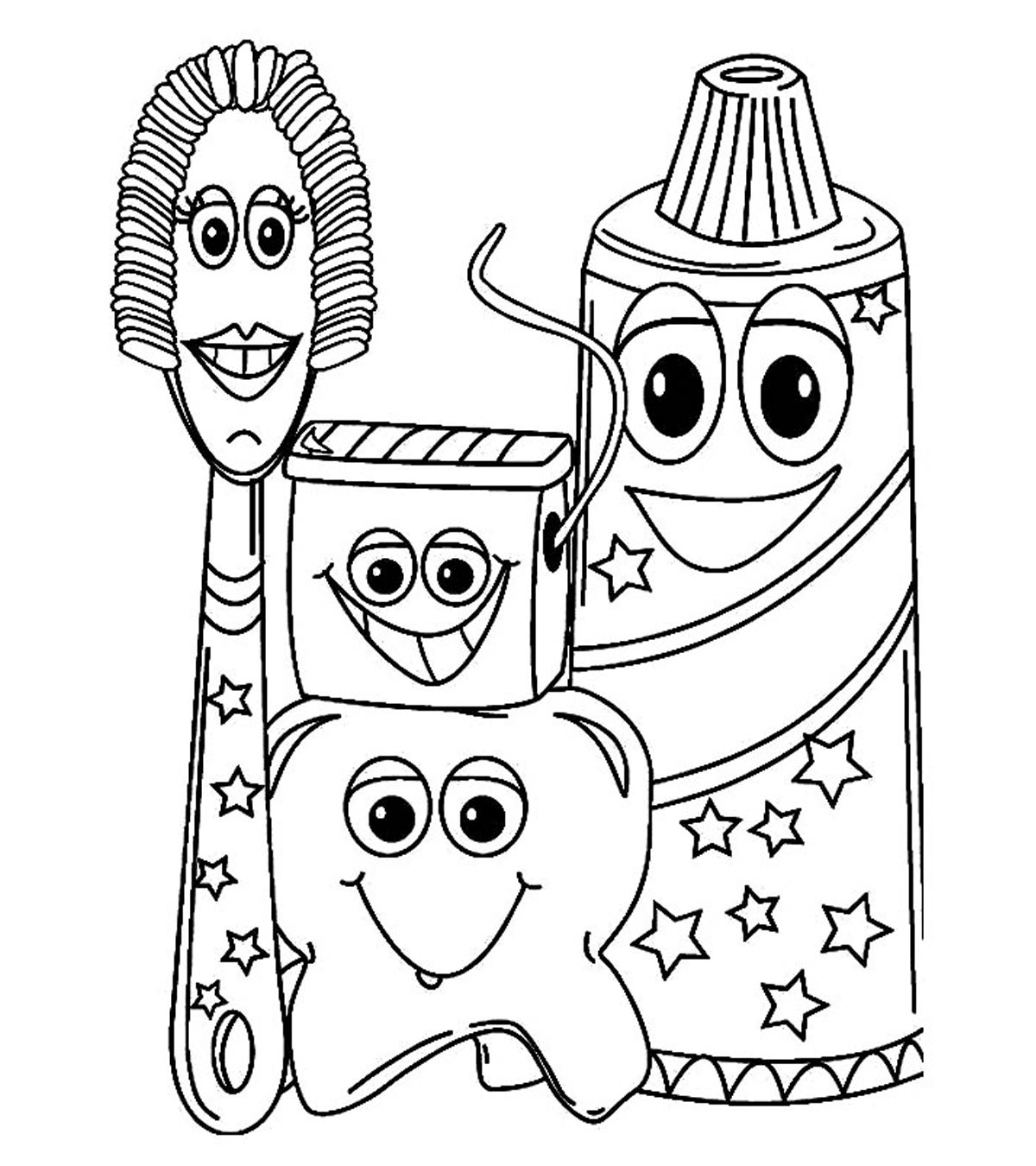 Community Helpers And People Coloring Pages